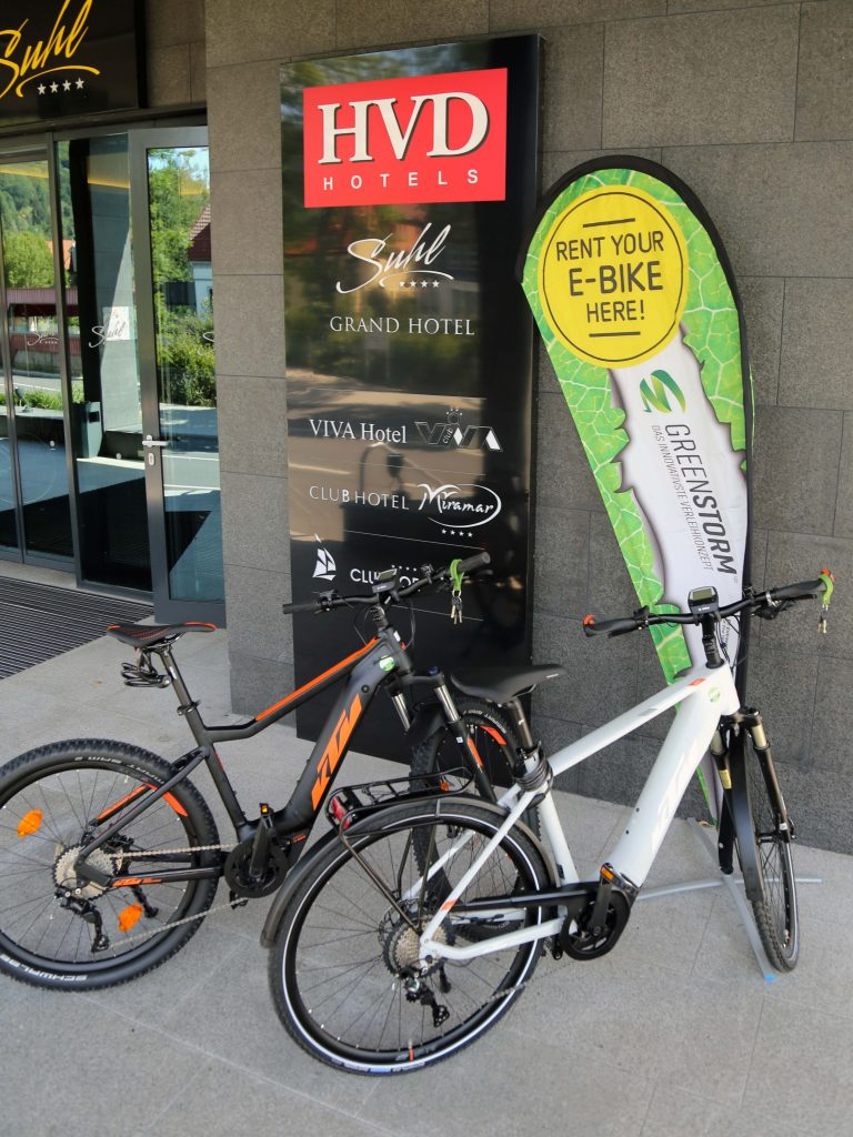 e-bike rental service