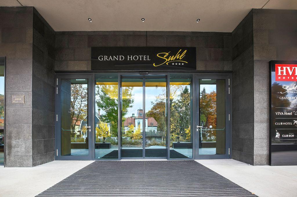 Grand Hotel Suhl Thuringen Herzlich Willkommen